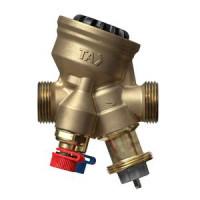 Балансировочный клапан TA-COMPACT-P, Ду20 52-164-020