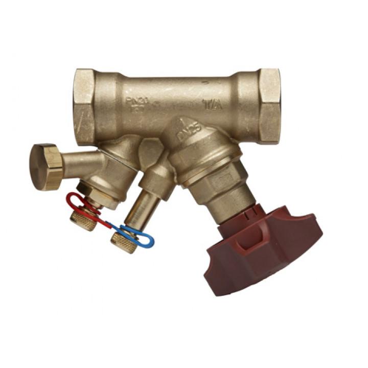 Балансировочный клапан Tour & Andersson STAD Ду32, Ру20 c дренажем 52151232