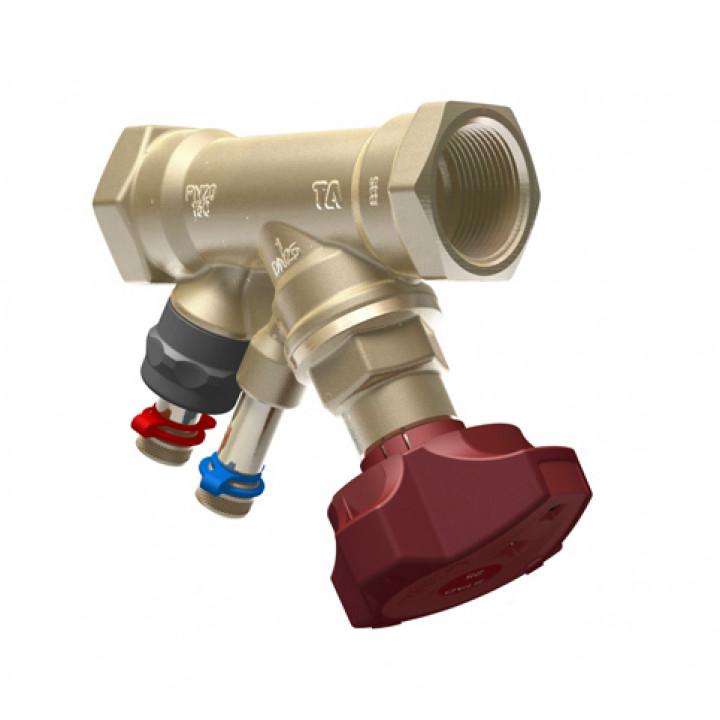 Балансировочный клапан р/р STAD без дренажа NEW, TA, Ду25 52851025