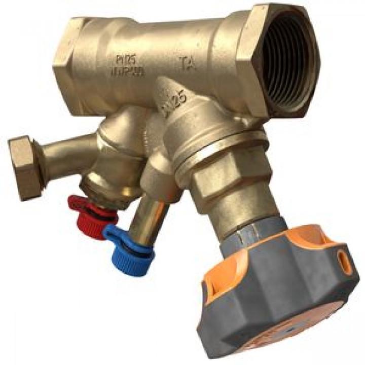 Балансировочный клапан р/р STAD c дренажем NEW, TA, Ду25 52851625