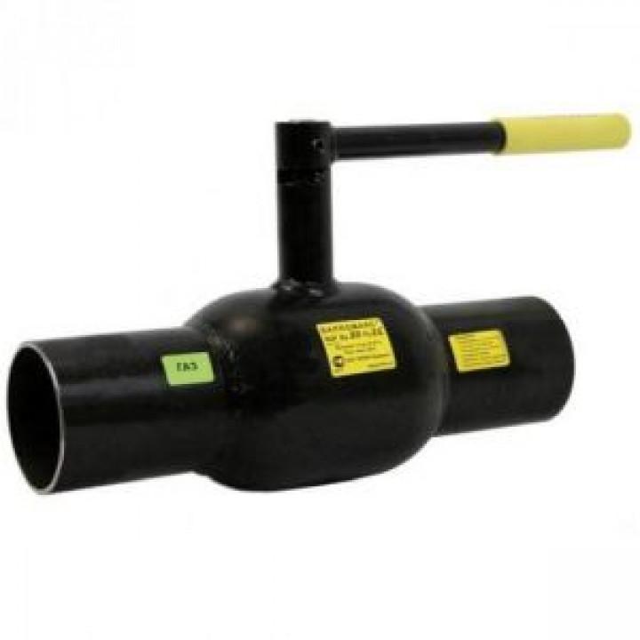 Шаровой стальной кран сварка/сварка, с рукояткой, Broen Ballomax, Ду100, 25 бар 54735