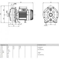 Насос центробежный KI 30/90 M DAB60173605