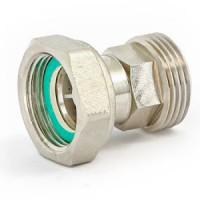 Разъемное соединение НР-ВР с накидной гайкой, плоской прокладкой и обратным клапаном, Uni-Fitt 623G3000