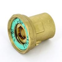 Соединение с накидной гайкой ВВ, встроенным шаровым краном, Uni-Fitt 627G6400