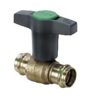 Кран шаровой Easytop с пресс-соединениями, с SC-Contur, DN 15 (18) 746384