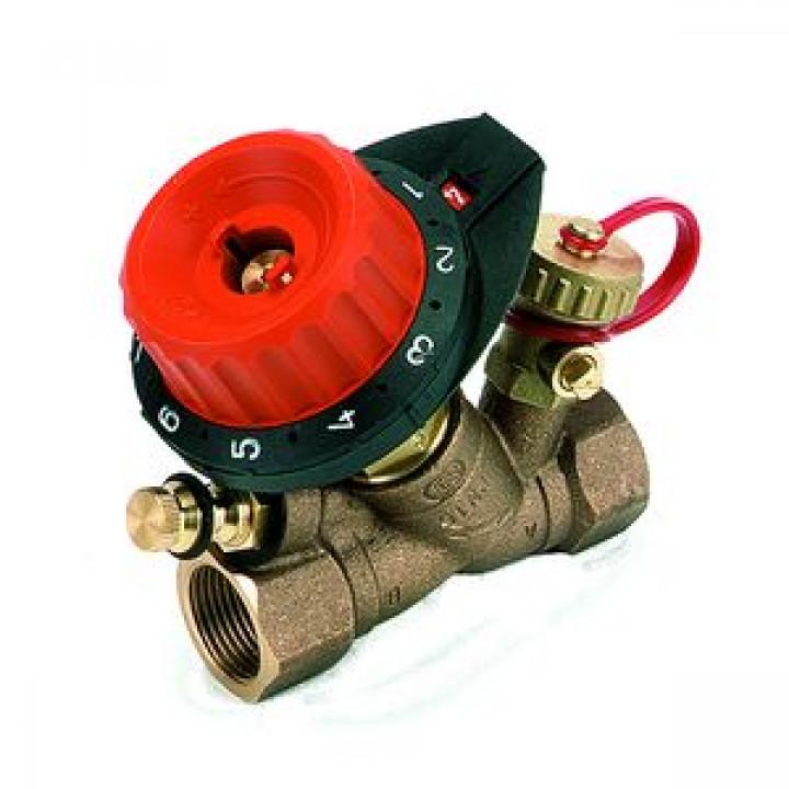 Балансировочный клапан р/р 750 с дренажем и с ниппелем, Comap, Ду10 750403