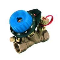 Балансировочный клапан р/р 750R с дренажем и с ниппелем, Comap, Ду25 7504081