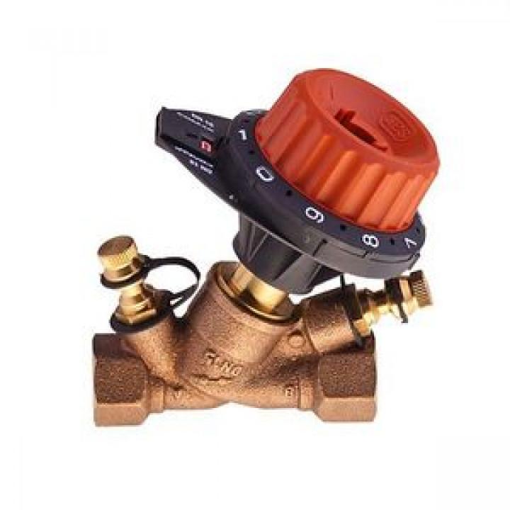 Балансировочный клапан р/р 751 без дренажа и с 2 ниппелями, Comap, Ду15 751404