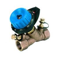 Балансировочный клапан р/р 751R без дренажа и с 2 ниппелями, Comap, Ду20 7514061
