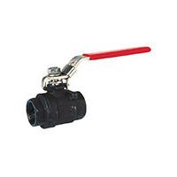 Кран шаровой полнопроходной стальной, DN25, PN63, ручка, корпус сталь BS5179-0025