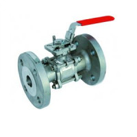 Шаровой стальной кран ф/ф полнопроходной, с рукояткой, трехдетальный, Tecofi BS6260-0015