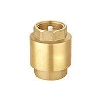 Клапан обратный латунь осевой CA1103 Ду 32 Ру16 Тмакс=100 оС ВР G1 1/4 диск нитрил-нейлон с BSP резьбой Tecofi . CA1103-0032