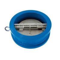 Клапан обратный чугун 2/створ CB3449 Ду 600 Ру16 Тмакс=110 оС межфл створки нерж TecofiCB3449-EPA0600