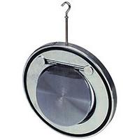 Клапан обратный сталь 1/створ CB5440 Ду 65 Ру16 Тмакс=110 оС межфл оцинкован тарелка сталь TecofiCB5440-0065