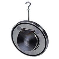 Клапан обратный нерж 1/створ CB6441 Ду 100 Ру16 Тмакс=170 оС межфл тарелка нерж TecofiCB6441-0100