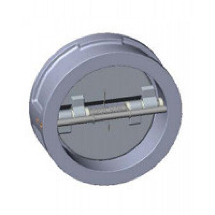 Клапан обратный нерж 2/створ CB6450 Ду 150 Ру25 Тмакс=200 оС межфл створки нерж TecofiCB6450-0150