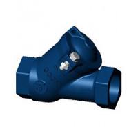 Клапан обратный чугун шаровой CBL4141 Ду 32 Ру10 Тмакс=90 оС ВР G1 1/4 шар нитрил с самоочищающимся шаром TecofiCBL4141-0032