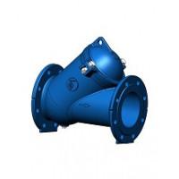 Клапан обратный чугун шаровой CBL4240 Ду 350 Ру10 Тмакс=80 оС фл шар сталь с самоочищающимся шаром TecofiCBL4240-0350