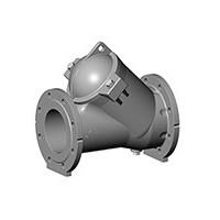 Клапан обратный шаровой, фланцевый, DN100, PN10, нерж сталь CBL6240-0100