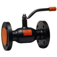 Кран шаровой сталь Бивал Ду 125 Ру16 фл ISO-фл и рукоятка термостойкая эмаль с ISOфл и рук ADLCM02A226816