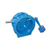 Клапан обратный чугун поворотный CP4243 Ду 500 Ру16 Тмакс=80 оС фл заслонка чугун с противовесом TecofiCP4243-0500