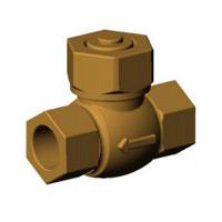 Клапан обратный подъемный, муфтовый, PN25, DN25, корпус бронза CS2143-0025