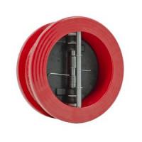 Клапан обратный чугун 2/створ Гранлок CV16 Ду 100 Ру16 Тмакс=80 оС межфл створки чугун пожарный ADLDF04A446288