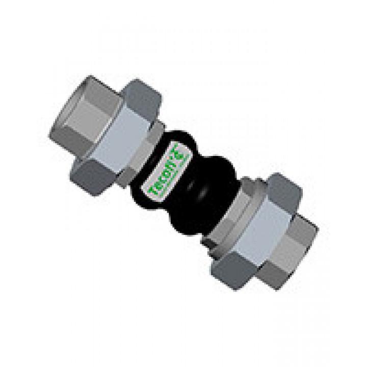 Гибкая вставка резьбовая DI7140, Tecofi DI7140N-0015