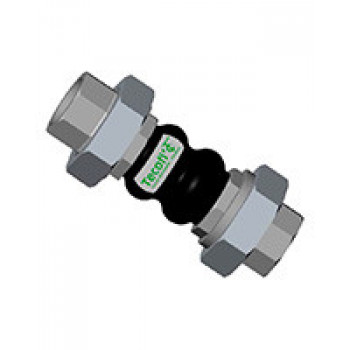 Гибкая вставка резьбовая DI7140, Tecofi DI7140N-0040