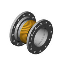 Гибкая вставка фланцевая DI7250 из нержавеющей стали, Tecofi, Ду40 DI7250MVT25-0040