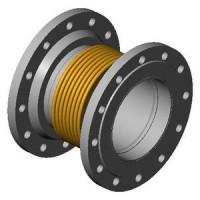 Гибкая вставка фланцевая DI7250 из нержавеющей стали, Tecofi, Ду350 DI7250MVT25-0350