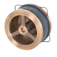 Клапан обратный бронза осевой VYC170-01 Ду 100 Ру16 Тмакс=250 оС межфл диск нерж ADLDS01A4685