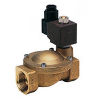 Клапан эл/магн латунь НО EV1141 Ду15 Ру10 G1/2