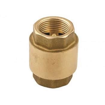 Клапан обратный, пружинный, универсальный, 1 1/4, ВВ, PN, бар-10, с металлическим затвором EV41.114114