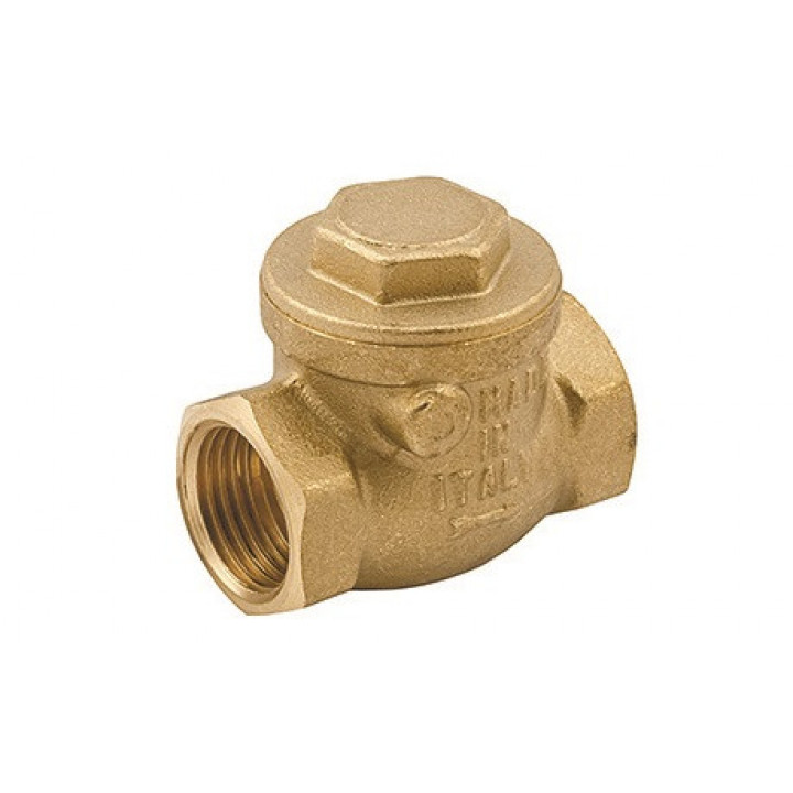 Клапан обратный, дисковый, горизонтальный, 1 1/4, ВВ, PN, бар-10 EV42.114114