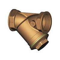 Фильтр сетчатый Y-образный латунь Ду 40 Ру16 Тмакс=120 oC G1 1/2 ВР F1141 TecofiF1141-0040