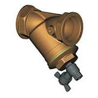 Фильтр сетчатый наклонный муфтовый, PN16, DN 1, латунь F2142-0025