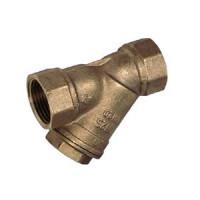 Фильтр сетчатый Y-образный бронза Ду 50 Ру20 Тмакс=120 oC G2 ВР F2143 TecofiF2143-0050