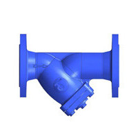 Фильтр магнитный сетчатый Y-образный чугун Ду 100 Ру16 Тмакс=300 oC фл F3240NA TecofiF3240NA-0100