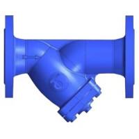 Фильтр сетчатый чугунный фланцевый с магнитной вставкой, Tecofi, Ду400 F4240NA-0400