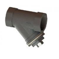 Фильтр сетчатый наклонный муфтовый, PN25/40, DN40, сталь F5150-0025