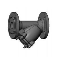 Фильтр сетчатый наклонный фланцевый, PN25/40, DN80, сталь F5240-0080