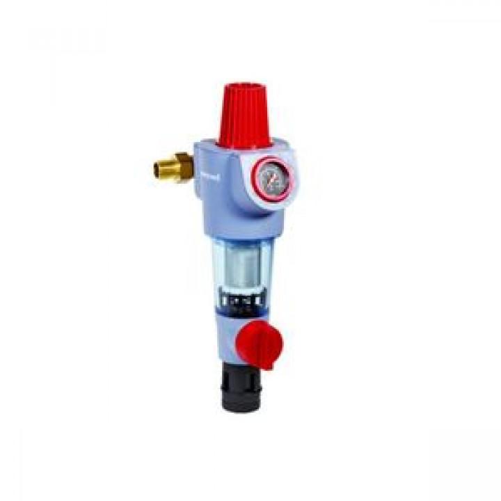 Фильтр сетчатый T-образный пластик Ду 15 Ру16 Тмакс=30 oC G1/2 НР F74CS HoneywellF74CS-1/2AA