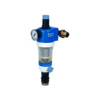 Фильтр сетчатый T-образный пластик Ду 25 Ру16 Тмакс=30 oC G1 НР FK74KC HoneywellFK74KC-1AA