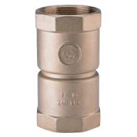 Клапан обратный латунь осевой KENT 10.009 Ду 65 Ру16 Тмакс=90 оС ВР G2 1/2 диск сталь ADLHF01C7866