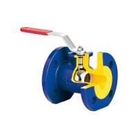 Кран шаровой чугун V565 Ду 80 Ру16 фл полнопроходной рукоятка ADLHT01A34856
