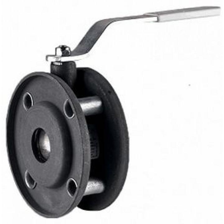 Кран шаровой сталь Стриж Ду 80 Ру16 межфл оцинкован LDLD Стриж 080.016.02.Zn
