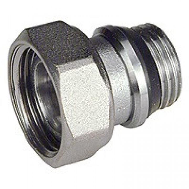 Отвод 1/2x3/8, с уплотнительным кольцом и накидной гайкой P15TGX003