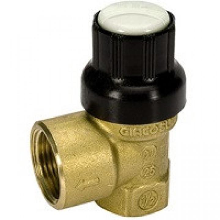 Клапан предохранительный R140C-1 для водоснабжения, Giacomini R140CY011