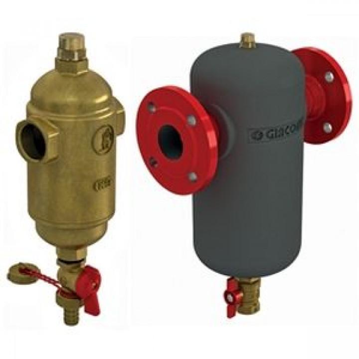 Фильтр R146M механической очистки с магнитным картриджем, фланцевый, Giacomini, Ду50 R146MY105